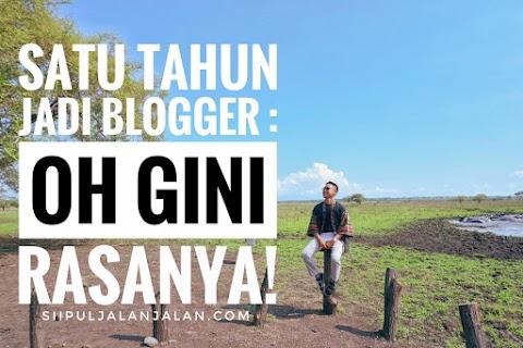 Satu Tahun Jadi Blogger : Oh Gini Rasanya!
