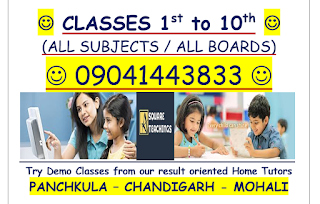 maths, science, english, french, sst home tutor in chandigarh