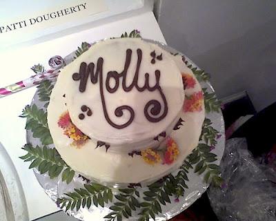Disgruntled Baker Molly S Birthday Cake