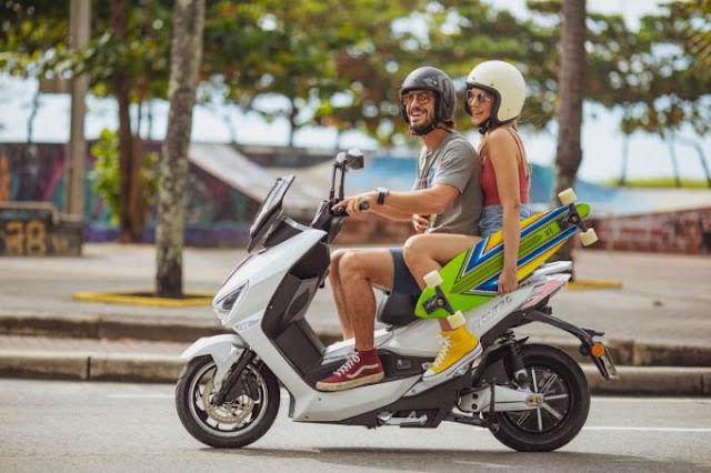 Startup pernambucana apresenta moto elétrica em cidades de Alagoas