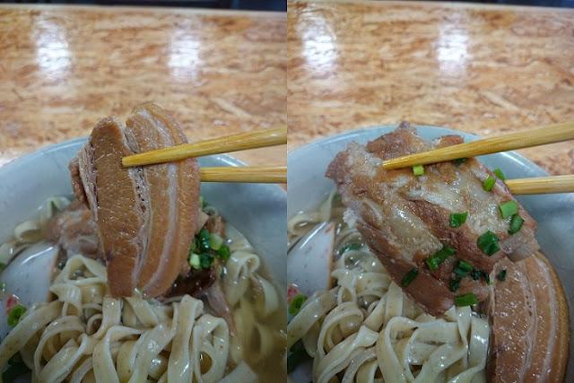 三枚肉と本ソーキの写真