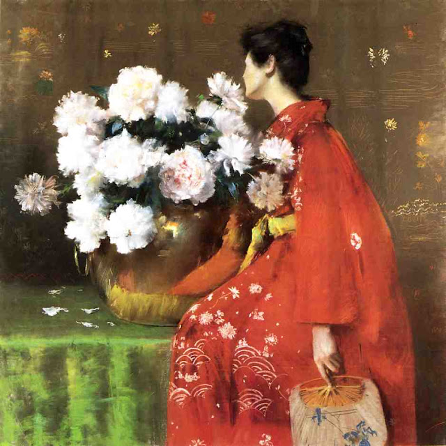 William Merritt Chase / American painter, teacher, portraitist