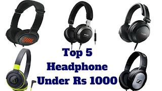 Best Earphones Under 1000 Rs