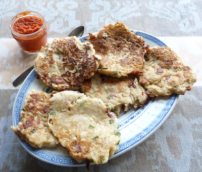 White Winter Radish Pancakes