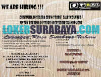 Info Lowongan Kerja Surabaya Terbaru di Frenz Community Oktober 2019