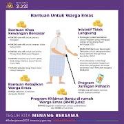 Cara permohonan Bantuan Warga Emas RM500 Dari JKM 2021