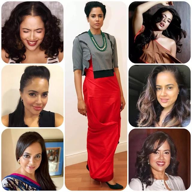Sameera Reddy Hairstyles
