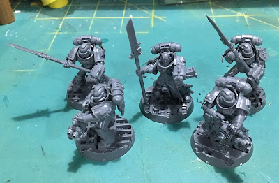 Grey Knight Kill Team WIP