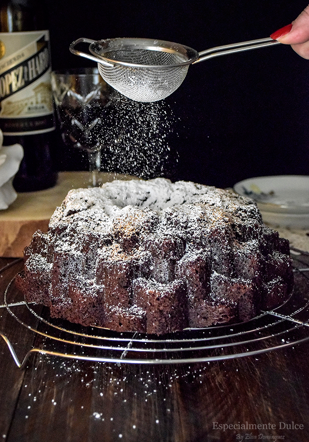 bundt cake blossom nordic ware receta chocolate y vino tinto