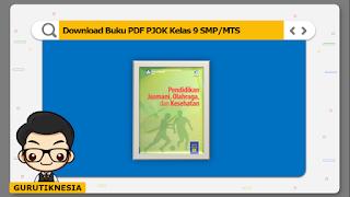 download ebook pdf buku digital pjok kelas 9 smp/mts