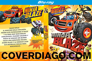 Blaze and the Monster Machines - Ninja Blaze - BLURAY