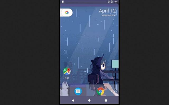 Google Pixel Live Wallpaper