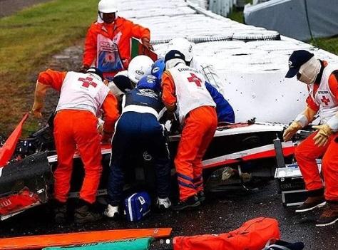 Kecelakaan Jules Bianchi