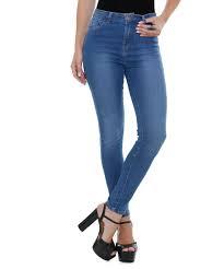calça jeans feminina com cintura alta
