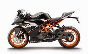 Fitur KTM RC200