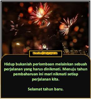kata-kata tahun baru menyentuh hati