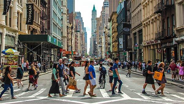 "Shopping in ""shopping paradise"" New York"
