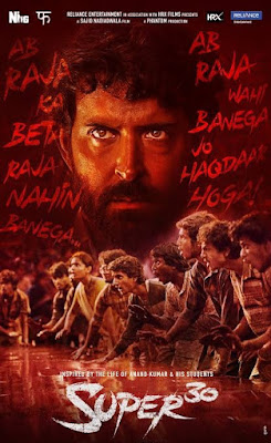 Super 30 Full Movie Download Filmywap Filmyzilla Pagalworld 720p 480p 300mb
