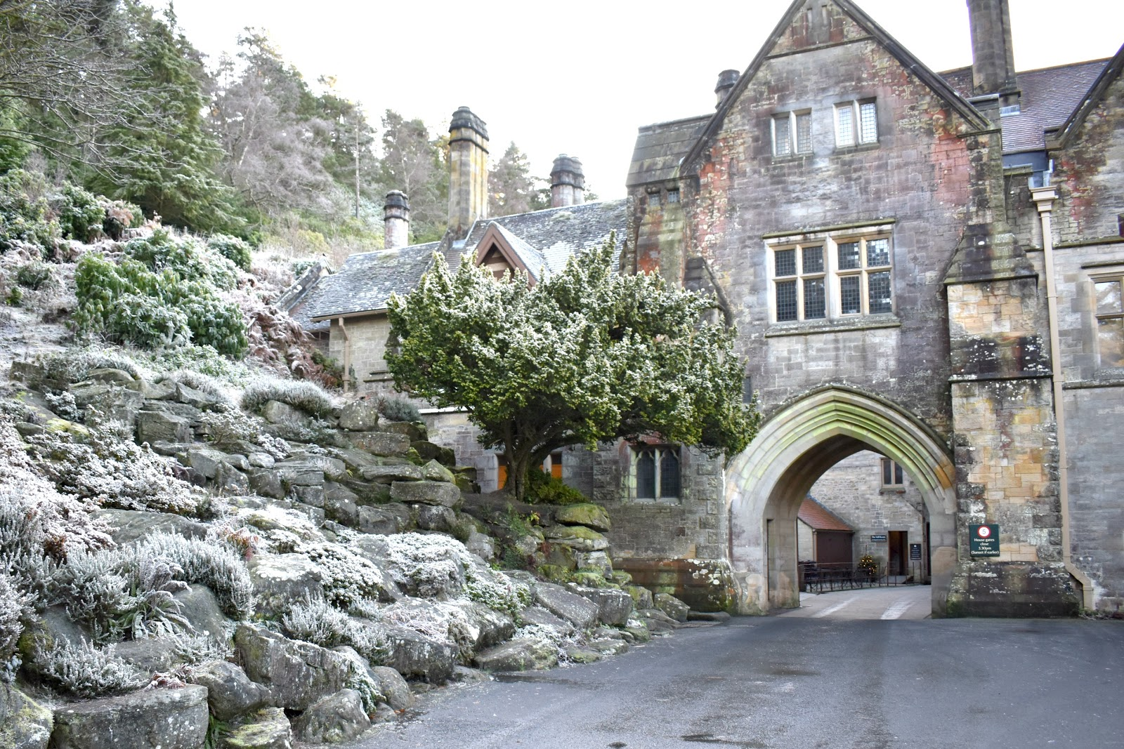Christmas at Cragside Northumberland