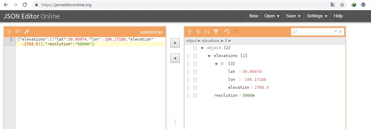JSON EDITOR ONLINE API - npoint io - JSON storage with