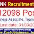 Axis Bank Recruitment 2021 – Apply Online for 12098 Business Associate, Team Member Posts