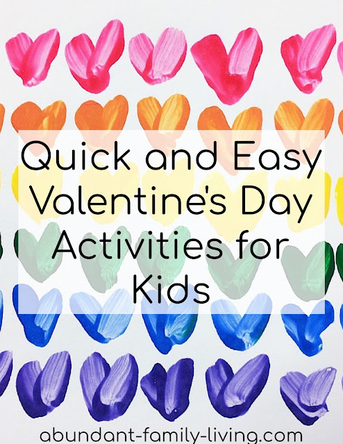 Quick and Easy Valentine's Day Activities for Kids