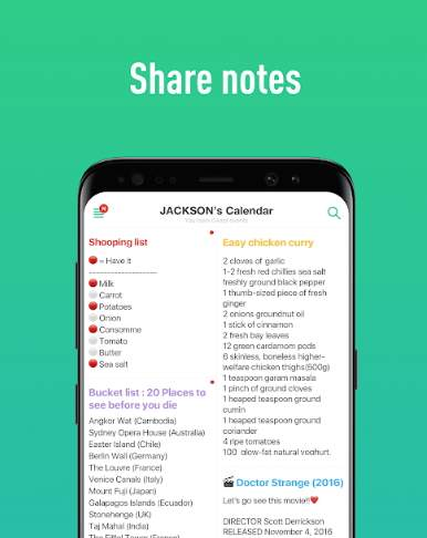 TimeTree - Free Shared Calendar for Android