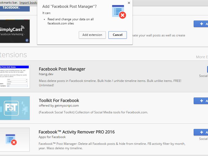 Tutorial Hapus Semua Postingan Di Facebook Otomatis Xtradroids