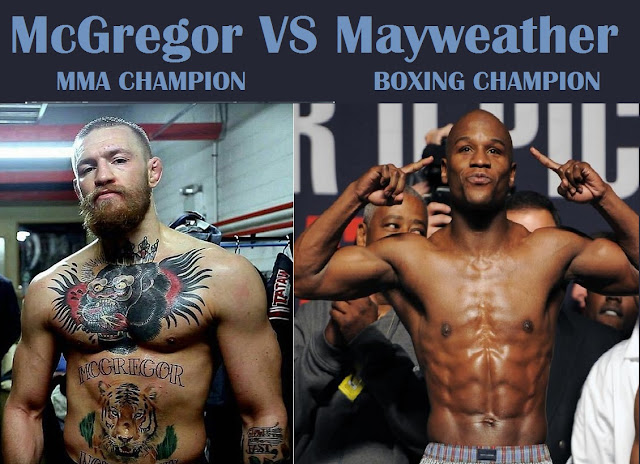 McGregor and Mayweather Fight