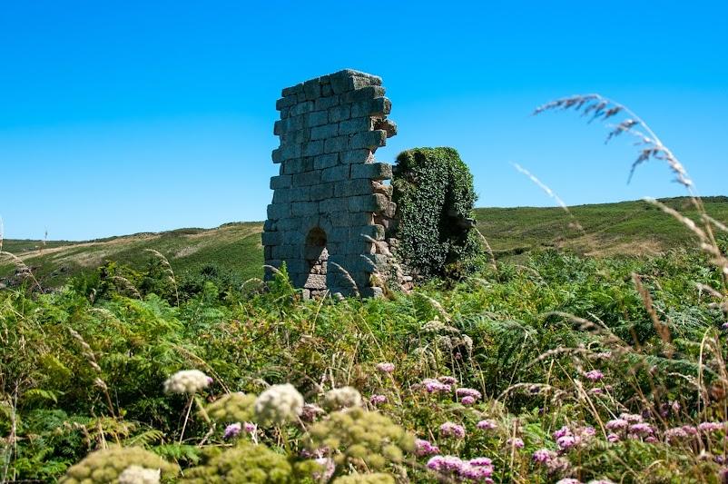 Mine ruins Cornwall