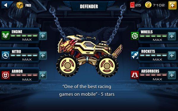 download game Mad Truck – Hill Climb Racing Apk Mod Cheat Free Weapons Maximum kills.