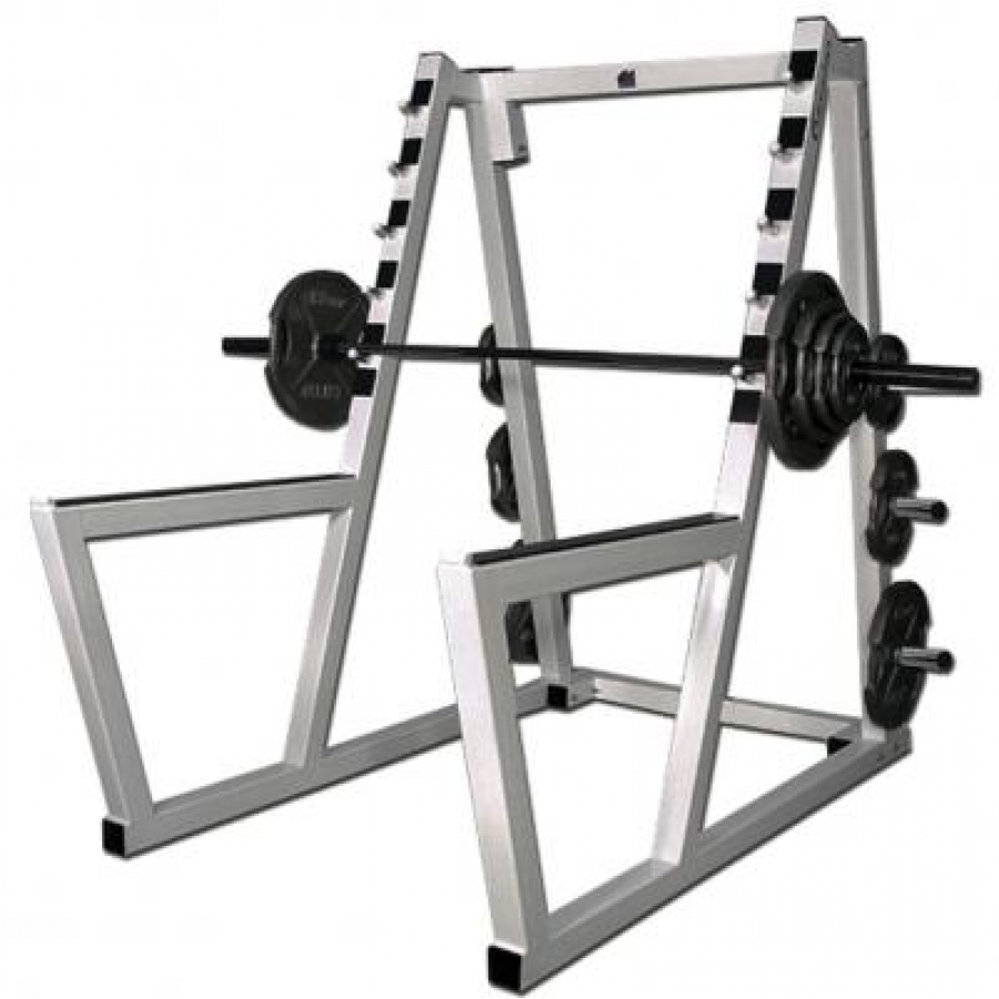 What fitness equipment do you need for a home gym for Make a squat rack at home