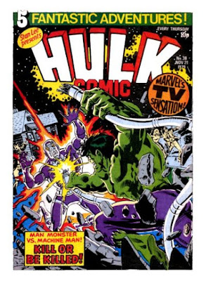 Hulk Comic #38, Machine Man