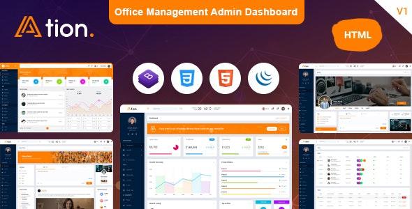 Premium Admin Dashboard Template