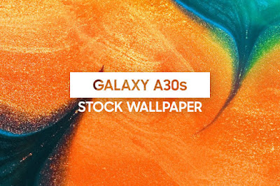 Samsung Galaxy A30S Default Wallpaper
