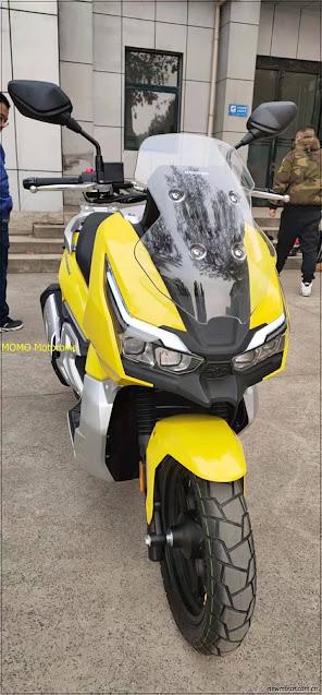 Intip Nih Dayang ADV 150 Yang Mirip Honda ADV 150
