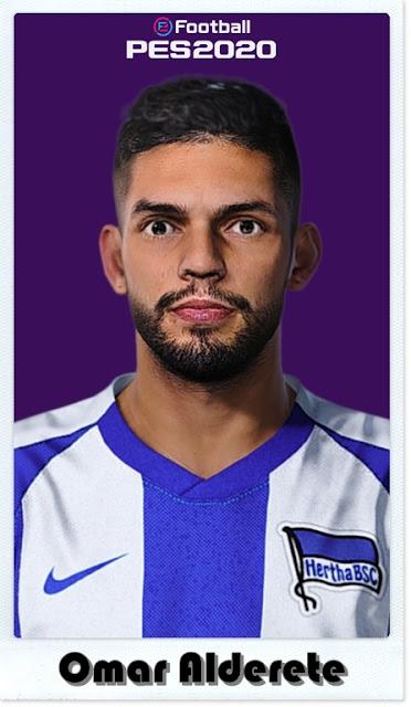 PES 2021 Omar Alderete face by Shaft