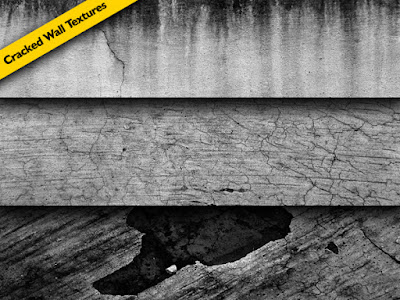 Cracked Wall Textures Pack
