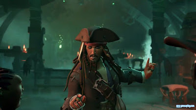 Sea Of Thieves A Pirate's Life Review - Jack Sparrow