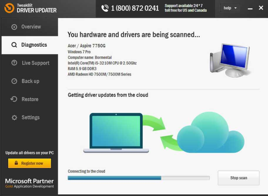 TweakBit Driver Updater 2.2.4.54019 poster box cover