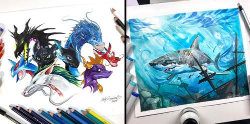 00-K-Lipscomb-Fantasy-and-Real-Life-Animal-Drawings-www-designstack-co