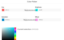 Here's How to Create a Responsive Color Picker Page on Blogger