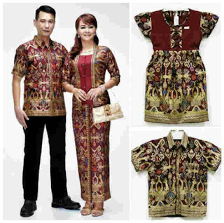 Model Baju Batik Couple Ibu Dan Anak Perempuan