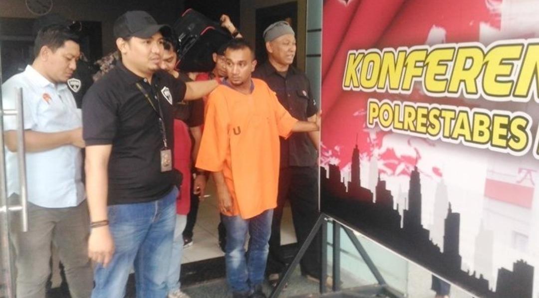 Rompak mesin ATM BNI Indonesia