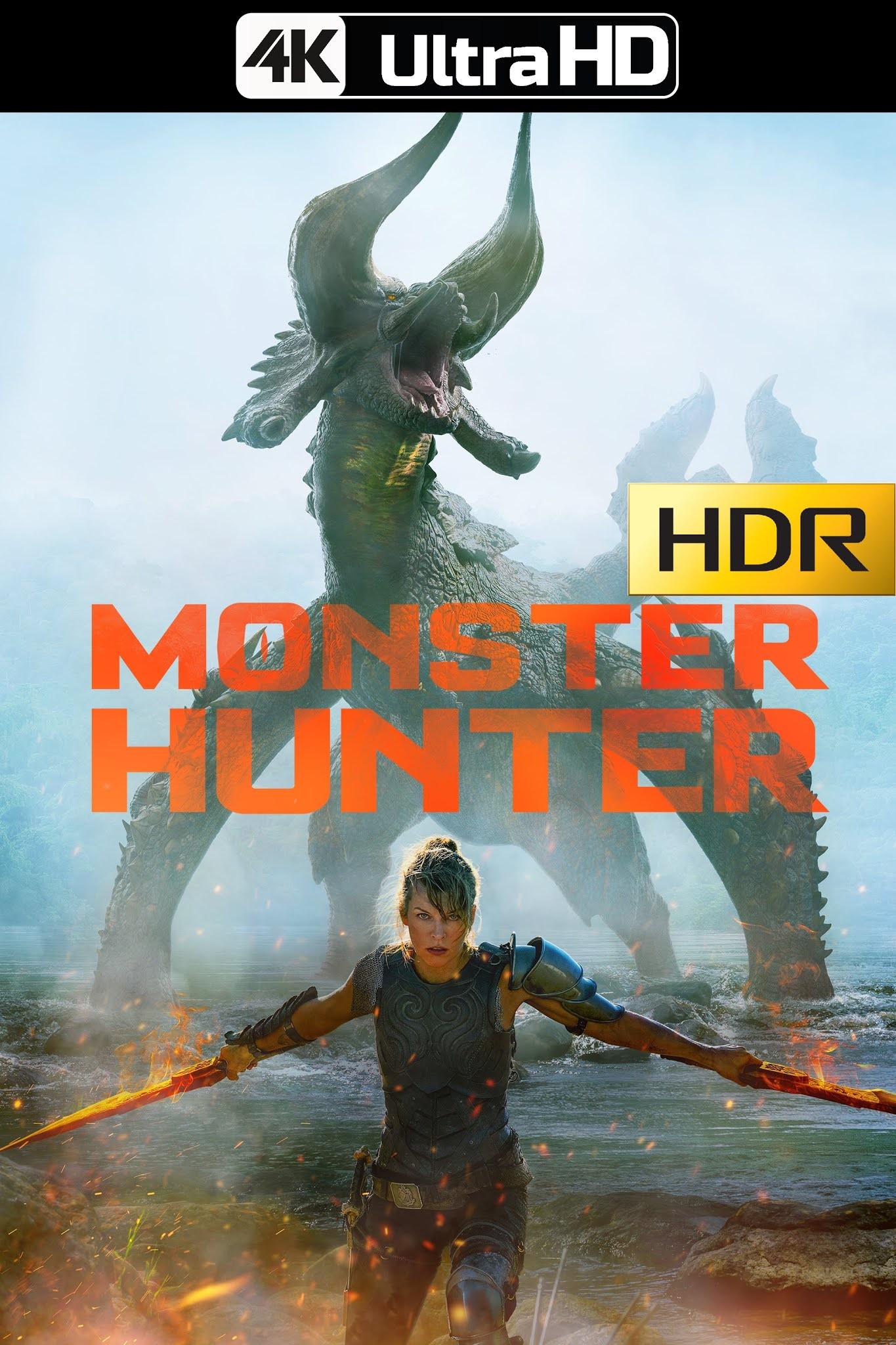 Monster Hunter (2020) 4K HDR WEB-DL Latino – CMHDD