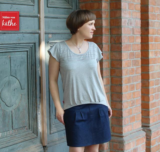 Shirt BeeSummer No.5 von BeeKiddi und Rock Chino-Mini von Prachtkinder