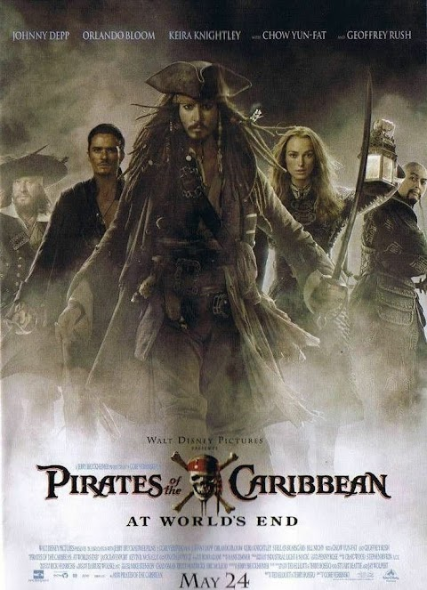 Pirates of the Caribbean: At The World's End (2007) 480p & 720p BluRay  Dual Audio (Hindi+English) Full Movie