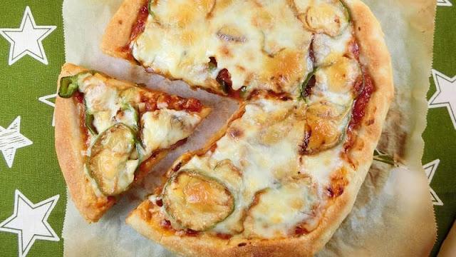 強力粉で発酵1回の手作りピザ生地