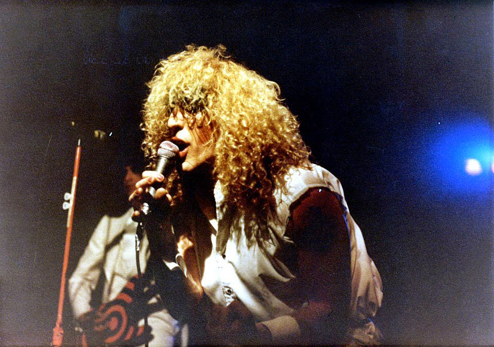 Twisted Sister on stage at Hammerheads February 5, 1982 for their 200th performance