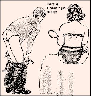 spanking art